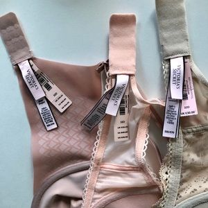 Victoria's Secret Intimates & Sleepwear - NWT 32D/34C 3 VICTORIAS SECRET BRA BUNDLE